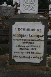 Clareman Grave old Irish 1912 Australia