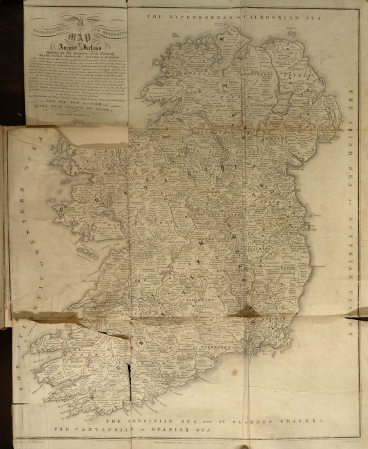 1-Map of Ancient Ireland