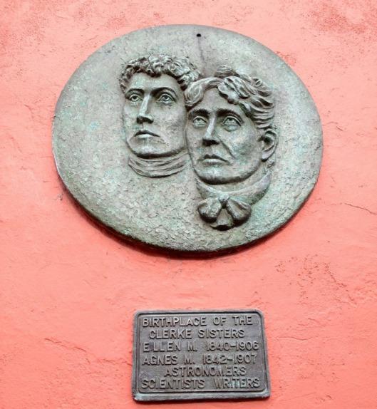 Commemorative plaque in Skibbereen