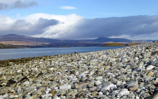 Ireland's first arrivals passed by this pebble beach on their way to Donemark