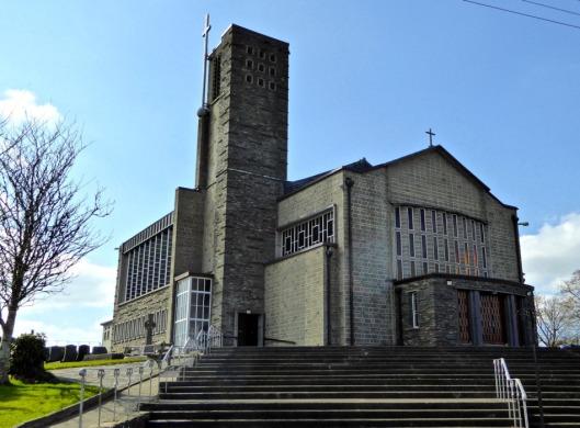 All Saints, Drimoleague - 1950s modernist architecture