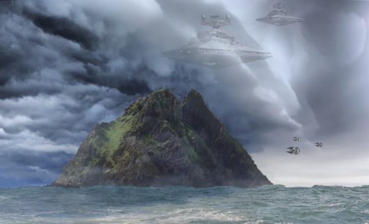 star wars on the skelligs