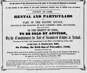 3-1853 Proposed sale Bantry Estate
