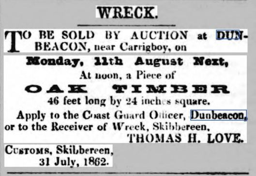 WRECK sale of timber (1)