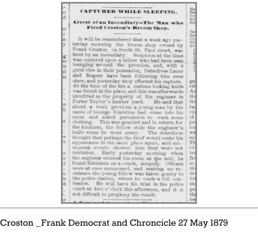 Croston__Frank_Democrat_and_Chroncicle_27_May_1879