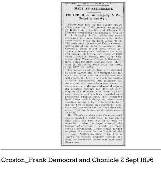 Croston_Frank_Democrat_and_Chonicle_2_Sept_1896
