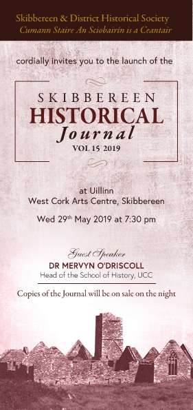 Skibb Historical Journal Invite